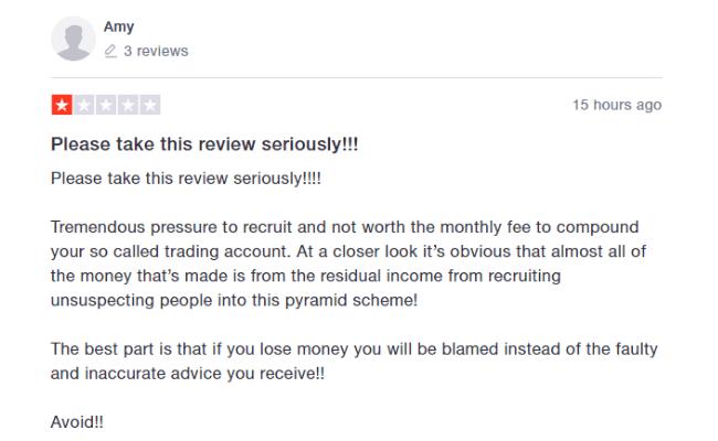 IM Mastery Academy Negative Reviews