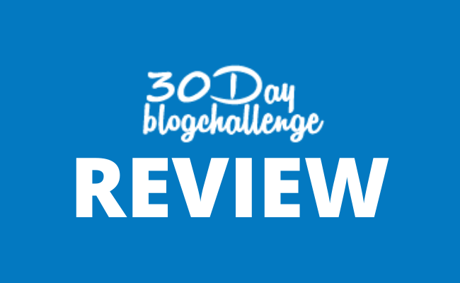 30 Day Blog Challenge Review