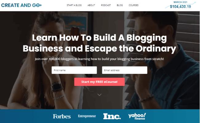 Create And Go Website