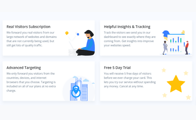 Simple Traffic Review Features