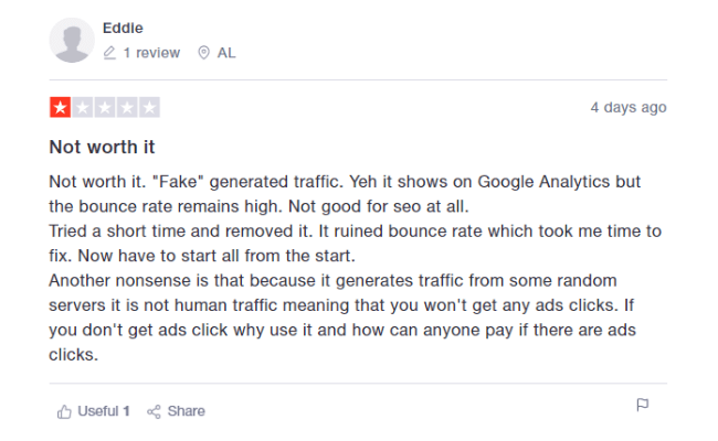 Simple Traffic Reviews