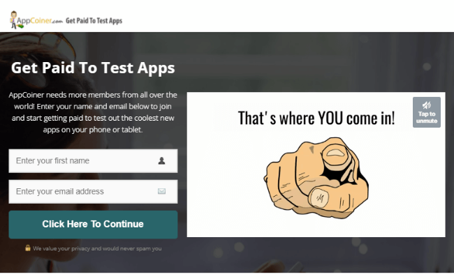 App Coiner Review - Official Website