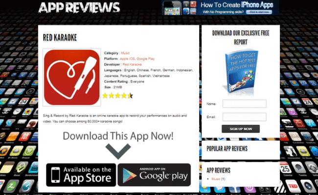 Write App Reviews Review - Step 3