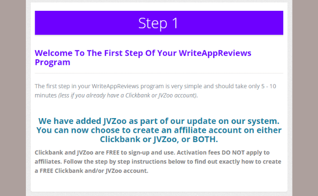 Write App Reviews Review - Step 1