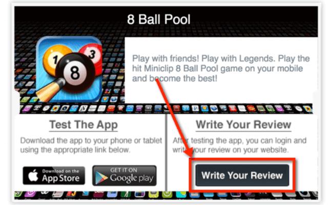 Write App Reviews Review - Step 2.1