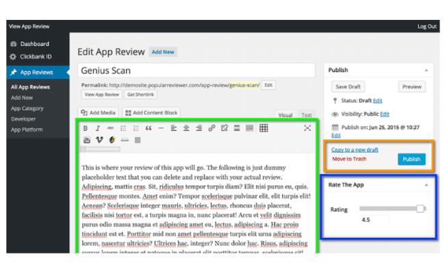 Write App Reviews Review - Step 2.2