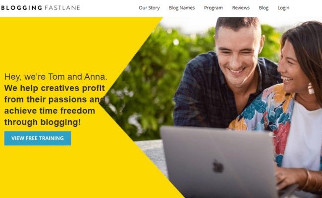 Blogging Fast Lane Review 1