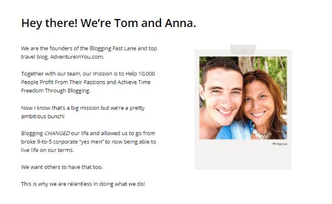 Tom and Anna