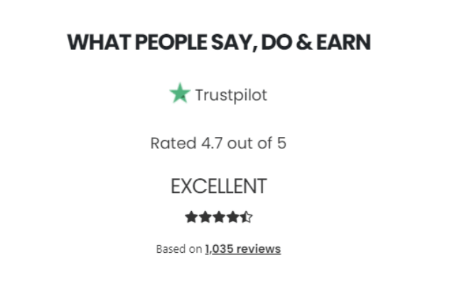 Earningcash.co Review - Fake TrustPilot Reviews