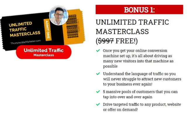 Invincible Marketer Bonus Content